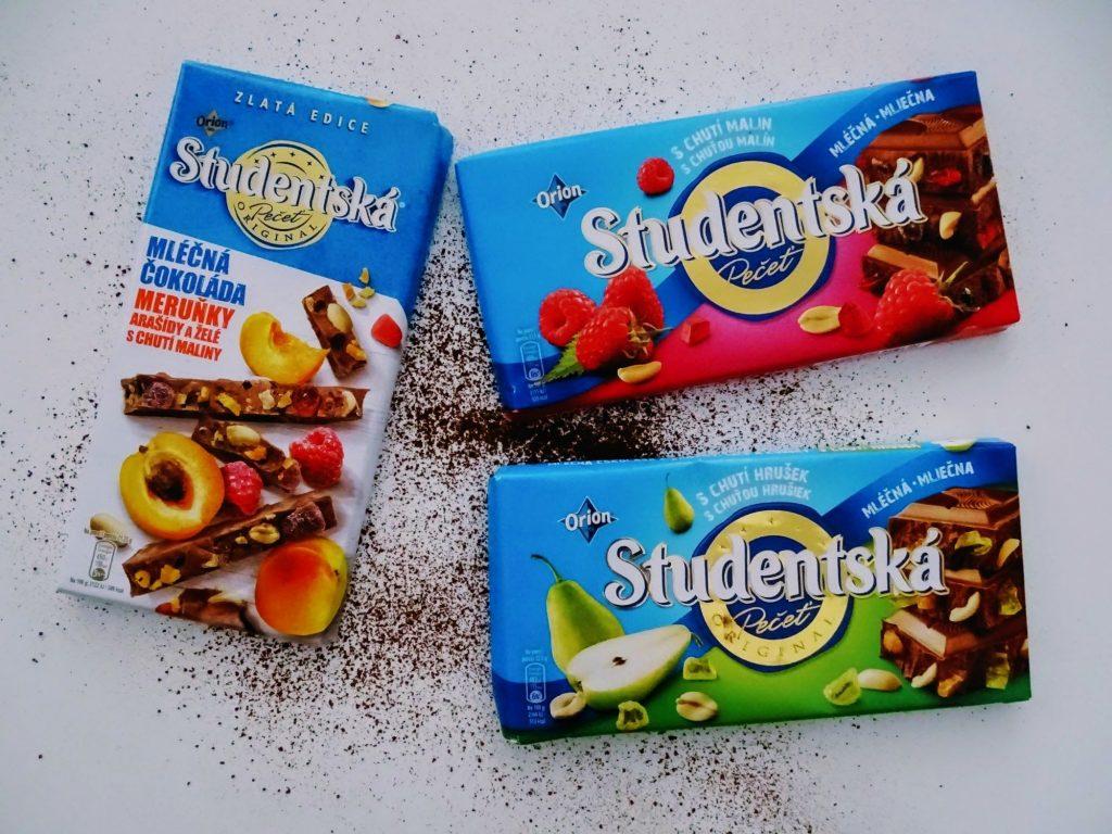 czekolada mleczna Studentska