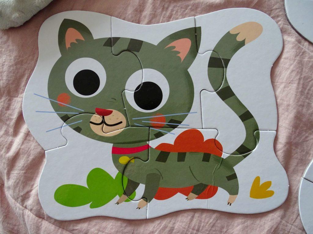 puzzle zwierzęta domowe