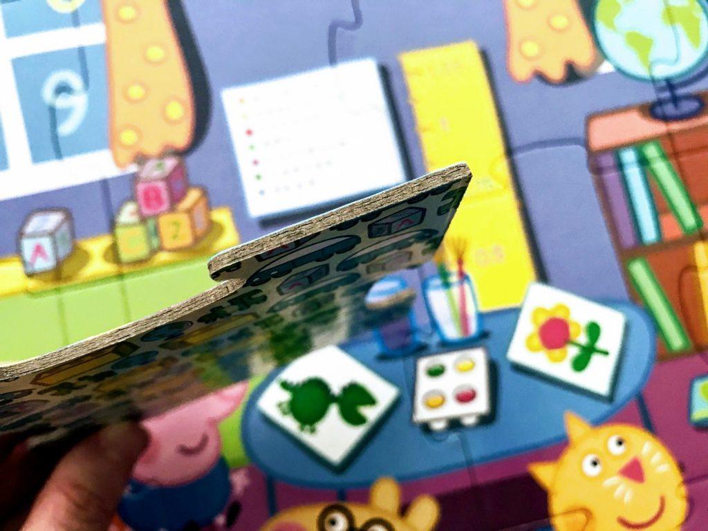 Maxi puzzle świnka peppa