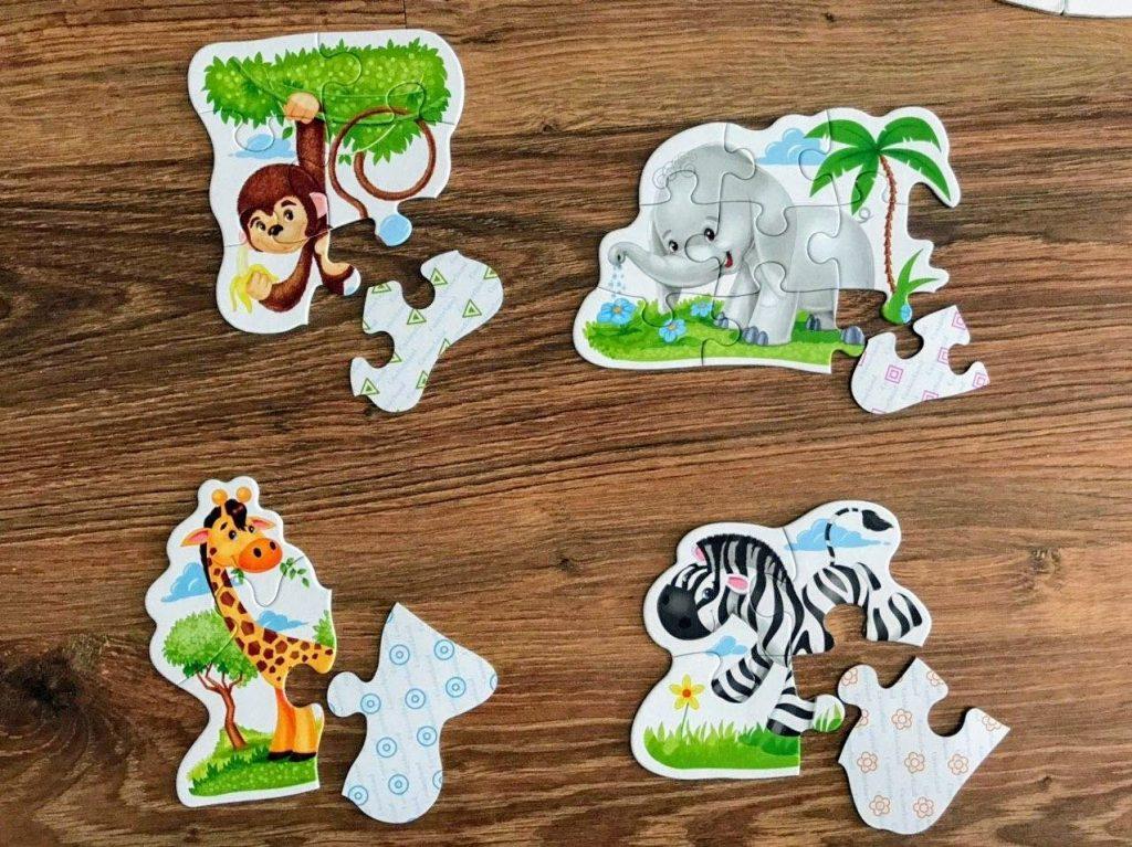 Puzzle konturowe dla dzieci