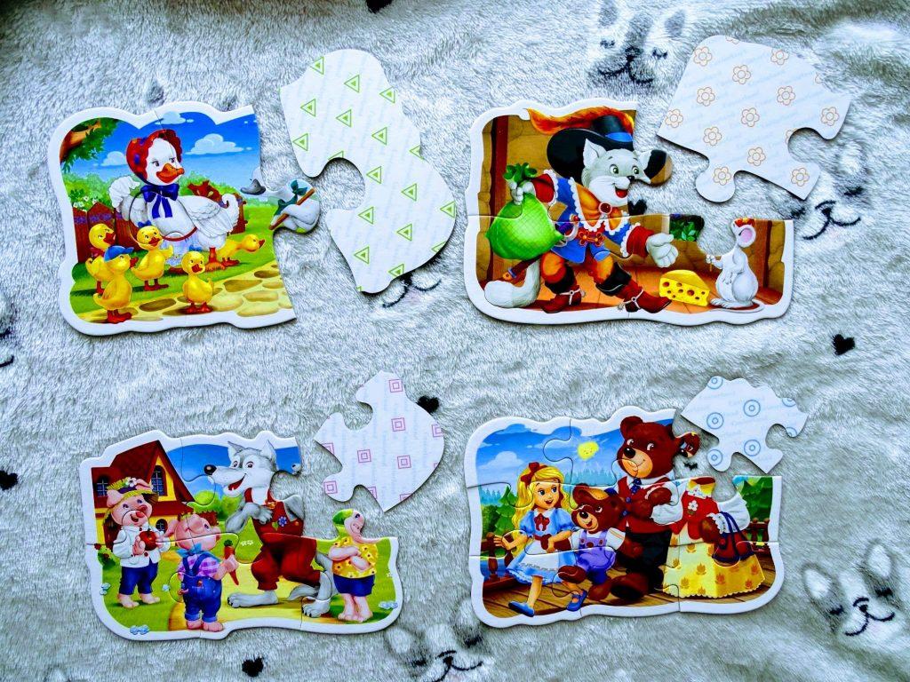puzzle dla dzieci bajki