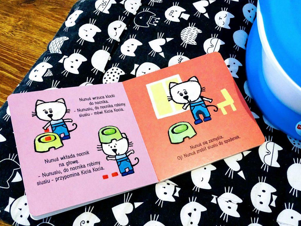 Książeczki kicia Kocia i nunuś
