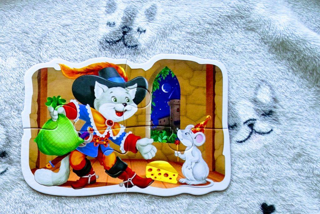 puzzle kot w butach
