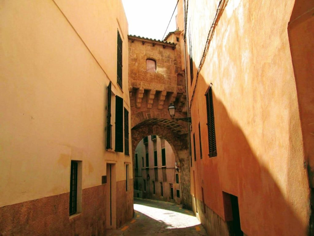 uliczka w Palla de Mallorca