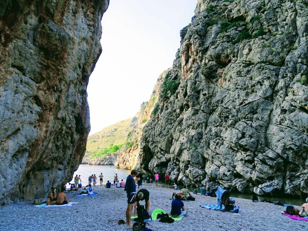 Plaża Sa Calobra