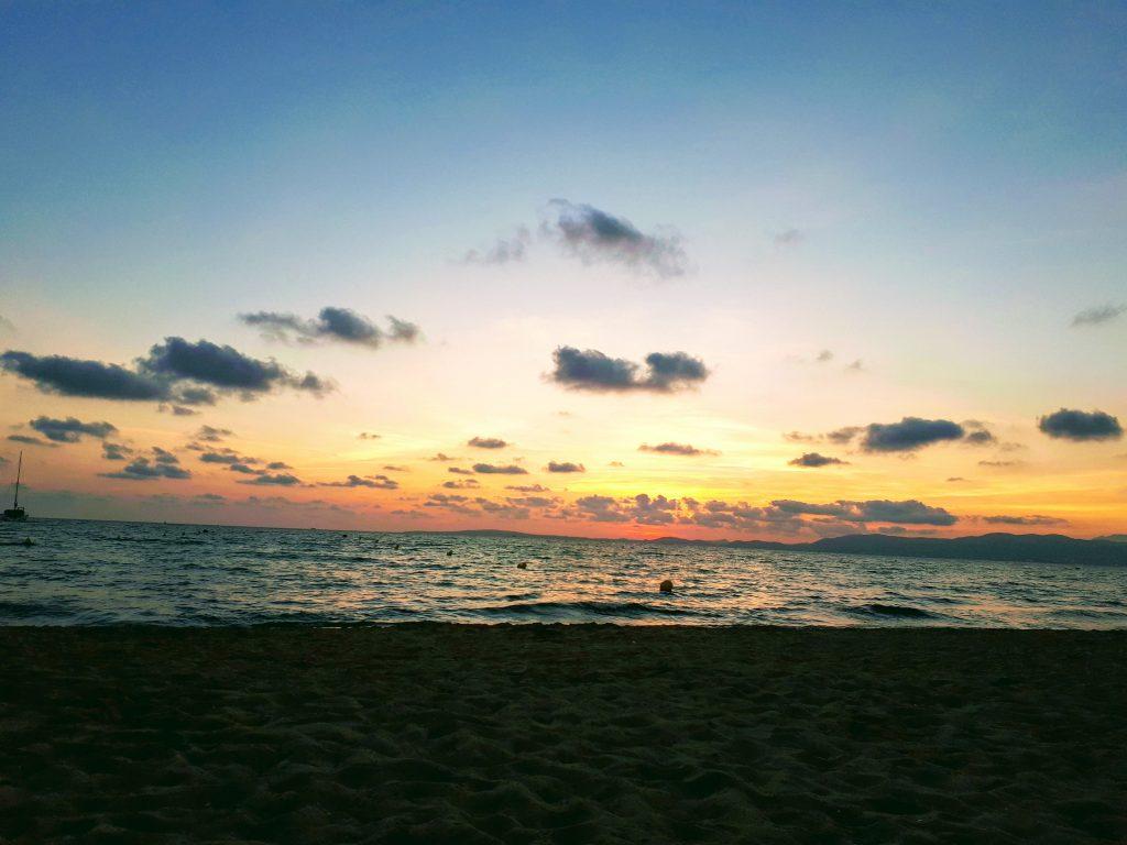 El Aneral zachód słońca