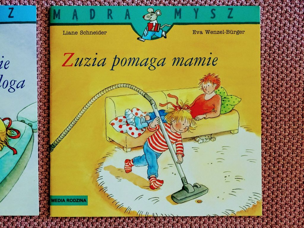 Mądra mysz Zuzia pomaga mamie
