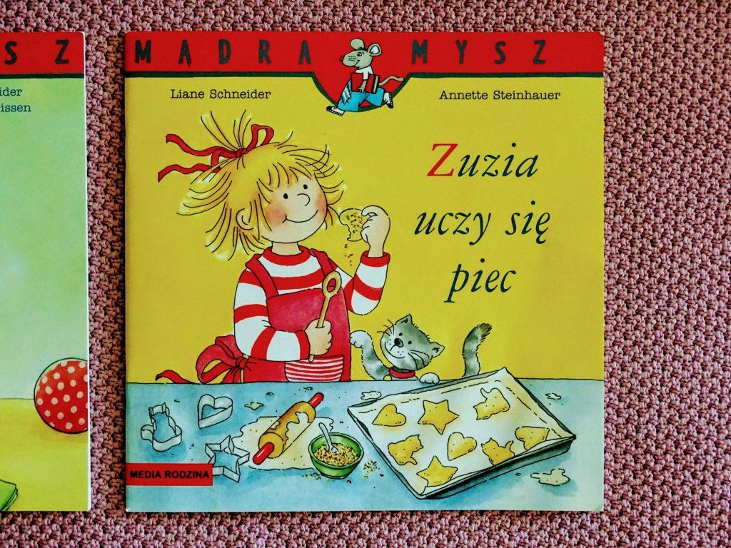 Mądra mysz Zuzia uczy się piec