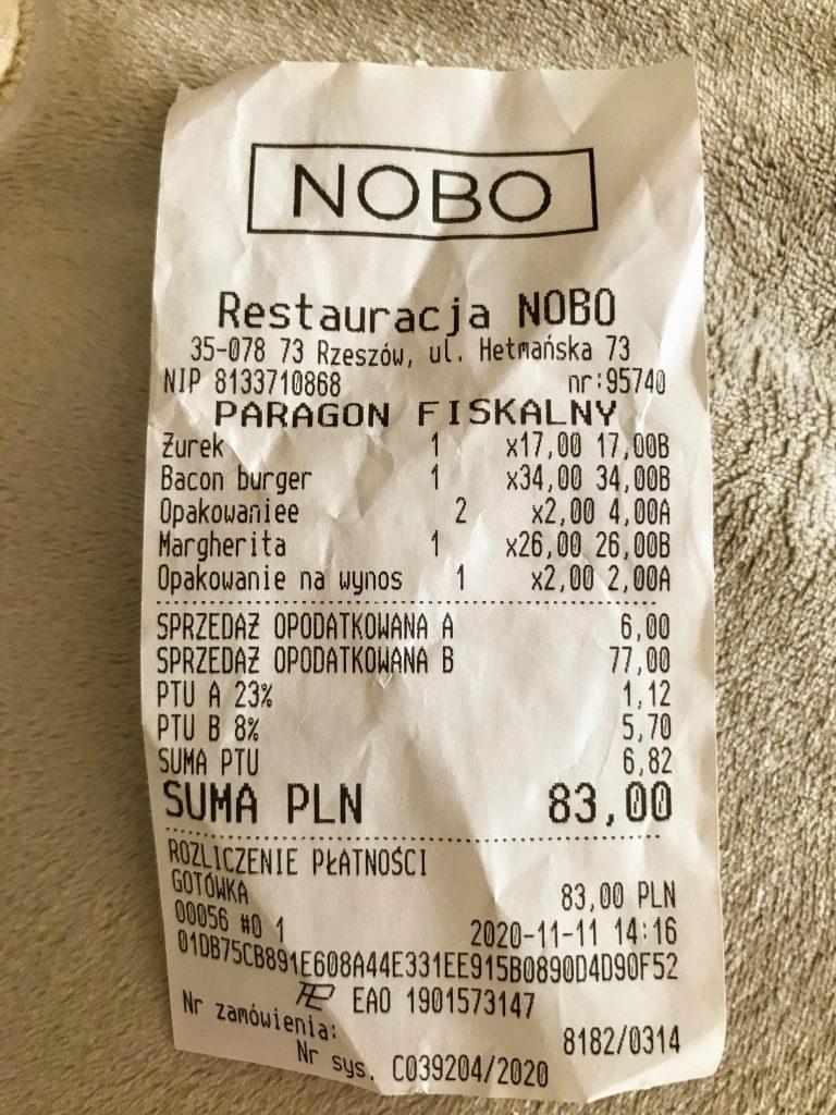 Restauracja NOBO RZESZÓW